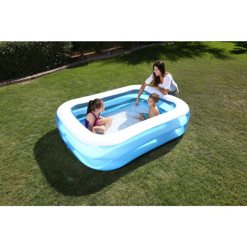 Inflatable Pool Rectangle 201x150x51 Cm.