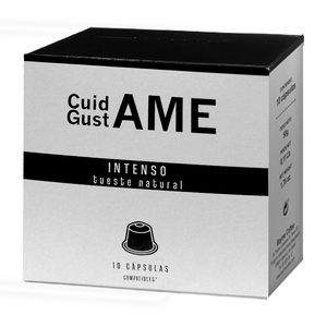 Care GustAME · 10 compatible coffee capsules with Nespresso machine®