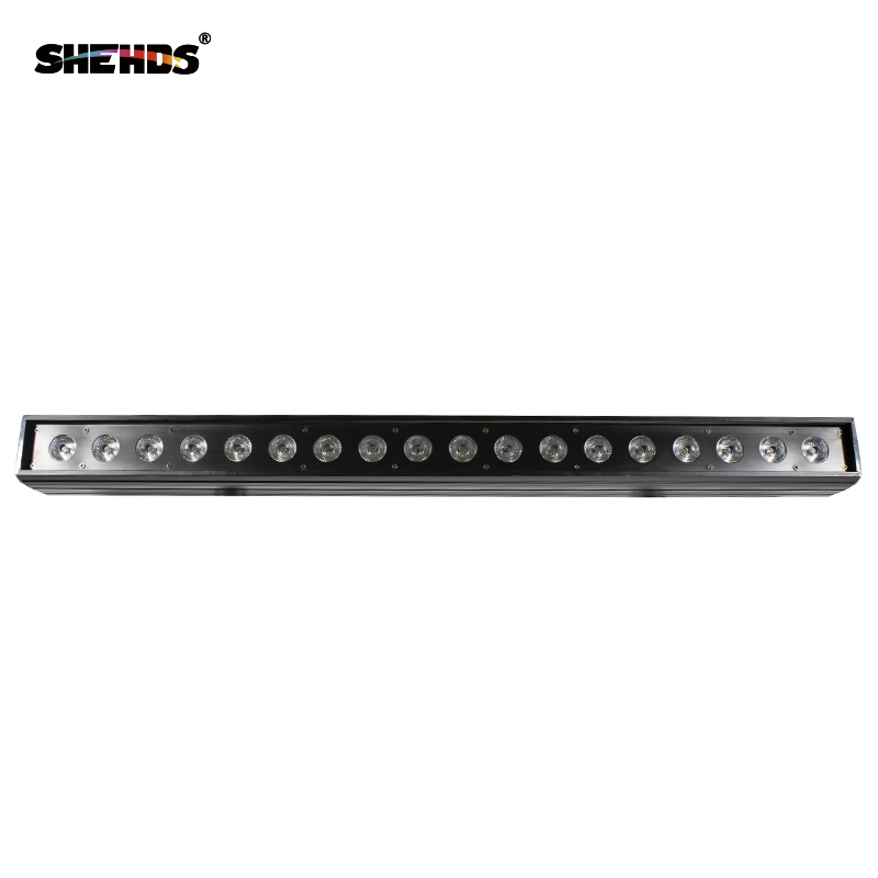 18x18W RGBW 6IN1 Led Wall Wash Light DMX Led Bar DMX Line Bar Wash Stage Light For Dj Indoor Horse Race Lamp