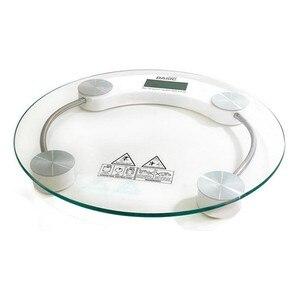 Digital Bathroom Scales Basic Home Transparent (ø 33 cm)