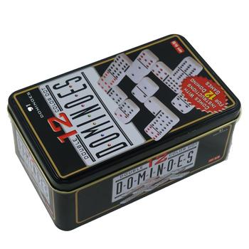 Domino double 12. Kids and adults tactical game-table game domino with markers double 6 double 9 double 12