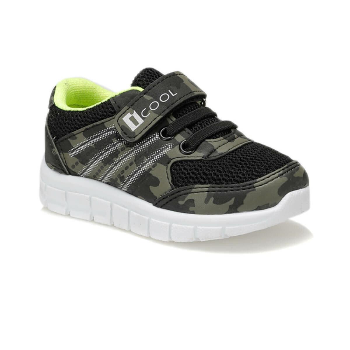 FLO STEFAN Khaki Male Child Sneaker Shoes I-Cool