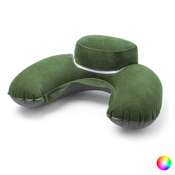 Inflatable Travel Neck Pillow 144997 inflatable travel neck pillow intex 36 x 30 x 10 cm