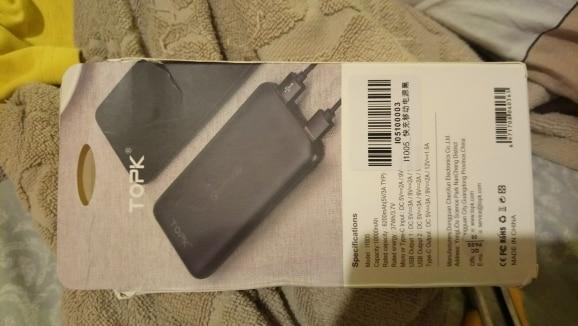 TOPK 10000mAh Power Bank 18W USB Type C External Batteries QC3.0 PD Two way Fast Charging Powerbank for Samsung Xiaomi|Power Bank|   - AliExpress