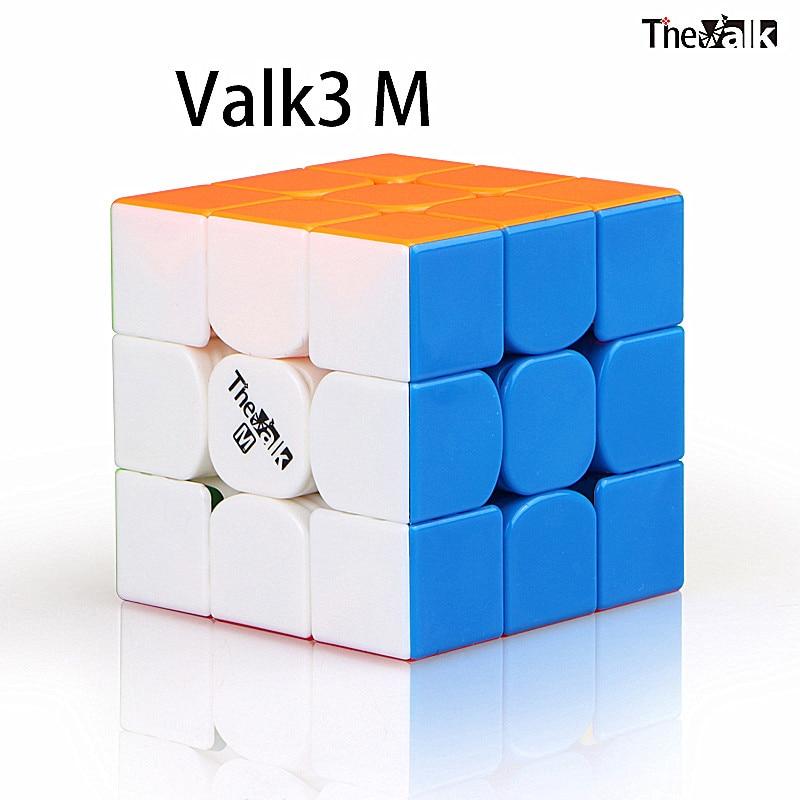 Qiyi 3x3x3 Cube Valk 3M Magnetic 3x3x3  Magic Cube The Valk3 M Magnetic 3x3 Speed Cube Qiyi Valk 3 M 3x3 Magnetic Cubo Magico