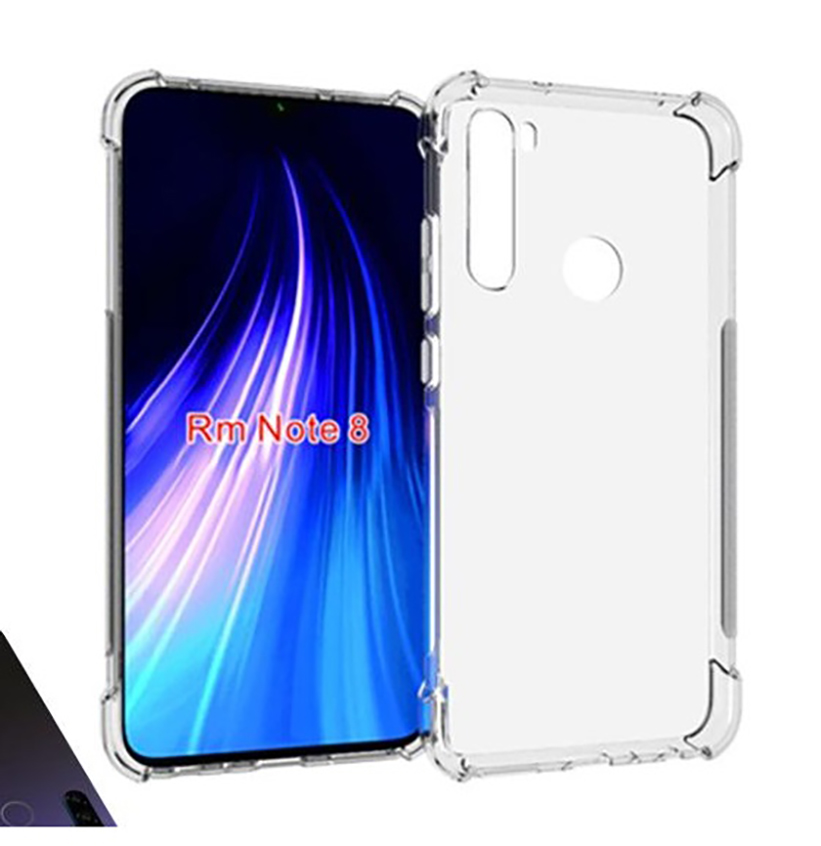 Stand Case For XIAOMI Note Redmi 8 Anti Shock Clear Gel Anti-Shock