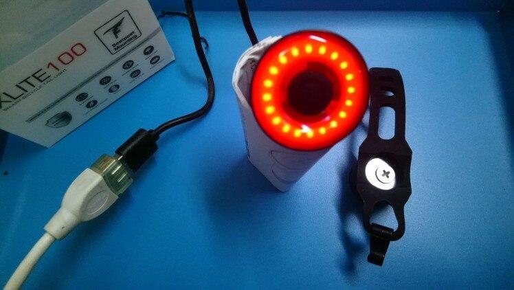 Luz de bicicleta Bicicleta Traseira Sensoriamento