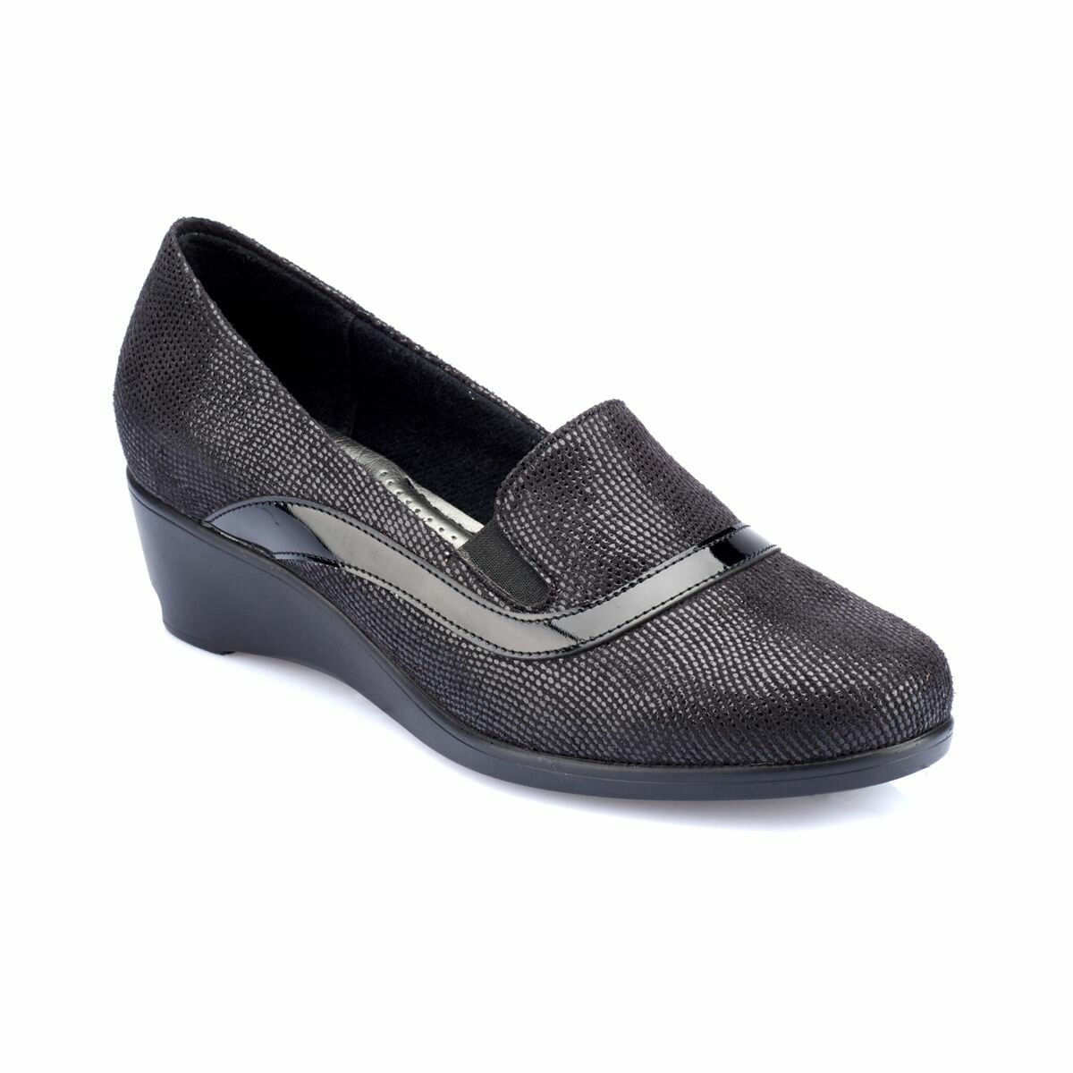 FLO 82.150013GZ Black Women Shoes Polaris