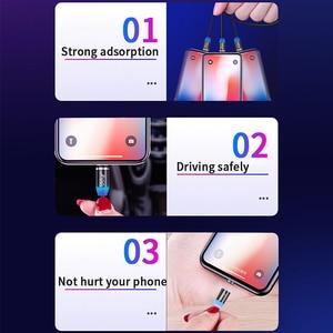 Image 4 - Udyr Cable Micro USB magnético para móvil, Cable Micro USB tipo C de carga rápida para iPhone, Samsung y Android