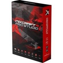 MIXCRAFT 9 PRO-AUDIO music in STUDIO software, WINDOWS digital, ACOUSTICA