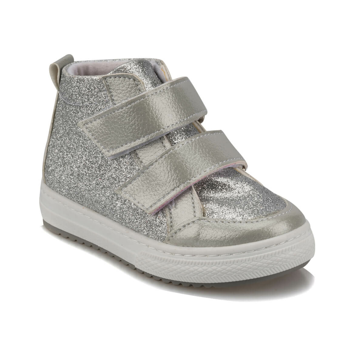 FLO 92.512018.B Silver Female Child Sneaker Shoes Polaris