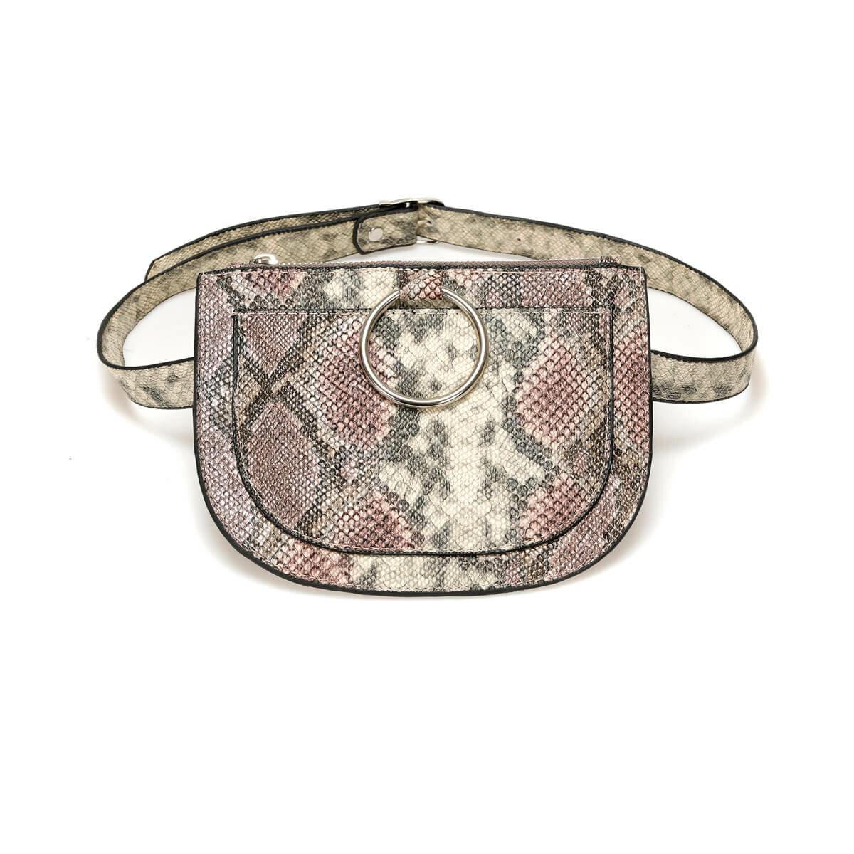 FLO TMK19018 31Z Burgundy Women 'S Waist Bag BUTIGO