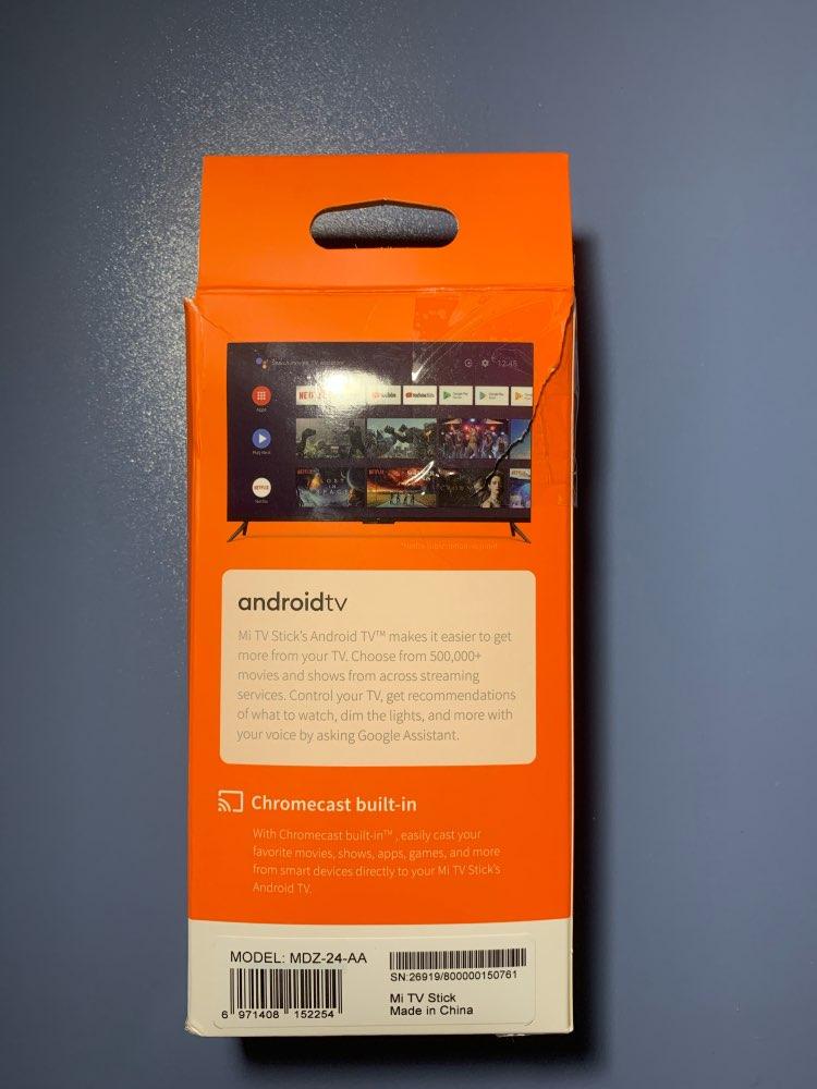 Conversor Smart TV Xiaomi Mi TV Stick 100% Original photo review