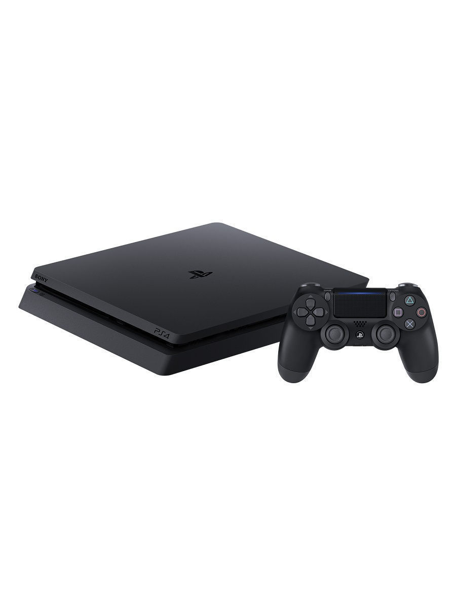 ps4 Sony PlayStation 4 Slim game console (1TB, cuh-2208b) with 3 games (DG, Gow, Tlou) + subscription PS plus the 3 month 1