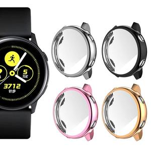 TPU cover Case for Samsung Galaxy watch Active 40mm case Soft Plate/Clear Anti-Scratch screen protector watch bumper Accessories