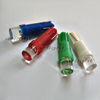 005181 Auto lampe ARL-T5 jaune plat 5mm LED (12 V, coin W1.2W) [fermé] boîte 100 pièces ARLIGHT lampe à LED.