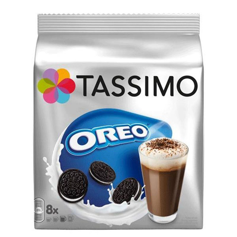 Tassimo OREO, 8 TD With All The Flavor Oreo.