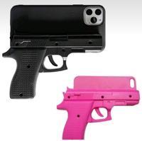 Gun Design phone case for iphone 5S 6 6S 7 8 plus X XS XR Max 11 pro Mobile Pistol Style Plastic Hard Cover