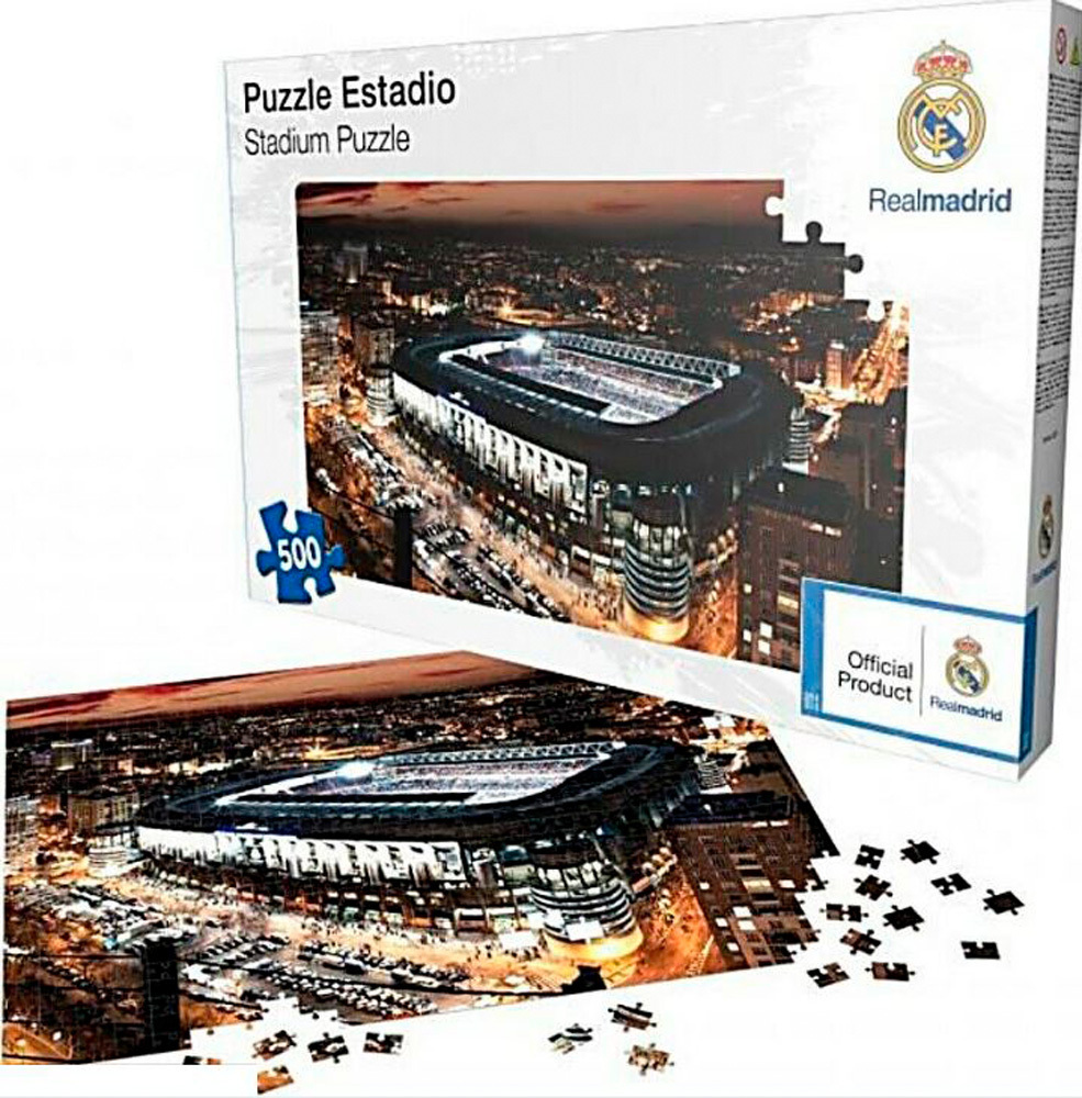 PUZZLE REAL MADRID 500 Pcs