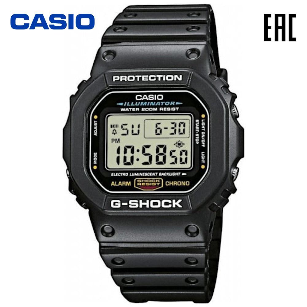Наручные часы Casio DW 5600E 1V электронные мужские G Shock|Цифровые часы|   | АлиЭкспресс