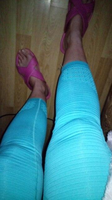 -- leggings costura Mulheres