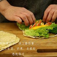 加拿大北极虾春饼卷的做法图解7