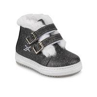 Flo hola 9pr cinza feminino criança botas kinetix|Botas| |  -