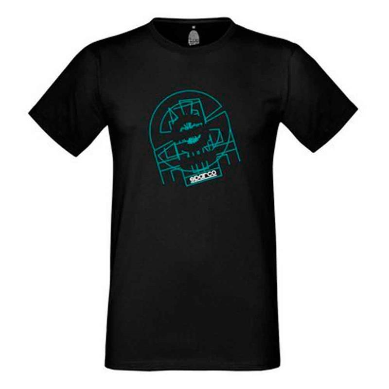 T-shirt Tron Sparco TG. XL Nero