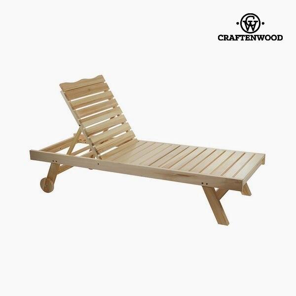 Sun-lounger (184 X 63 X 35 Cm) Aspen Wood