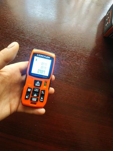 Laser Tape Measure Laser Measurement Tool photo review