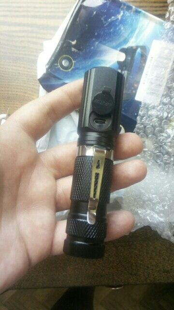 Faróis de LED Bateria Bateria 1000lm