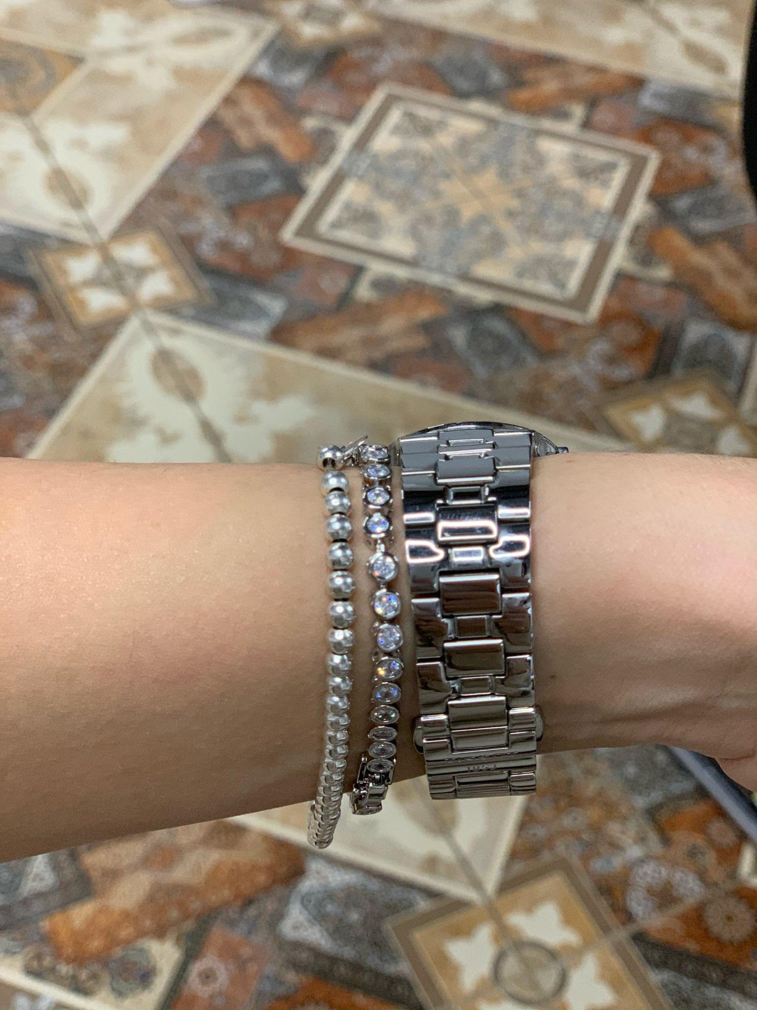 צמיד טניס יהלומים לאישה דגם 937 photo review
