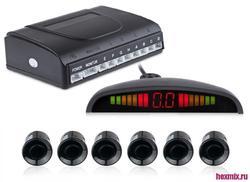 Парктроник 6 сенсоров More eyes & More safe