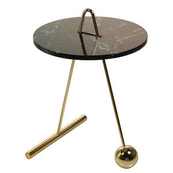 Small Side Table (45 X 46 X 66 Cm) Marble