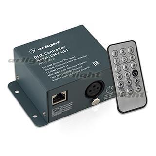 022413 Controller Dmx-q01 (USB, 256 Channels, Remote Control 18kn) Arlight 1-piece