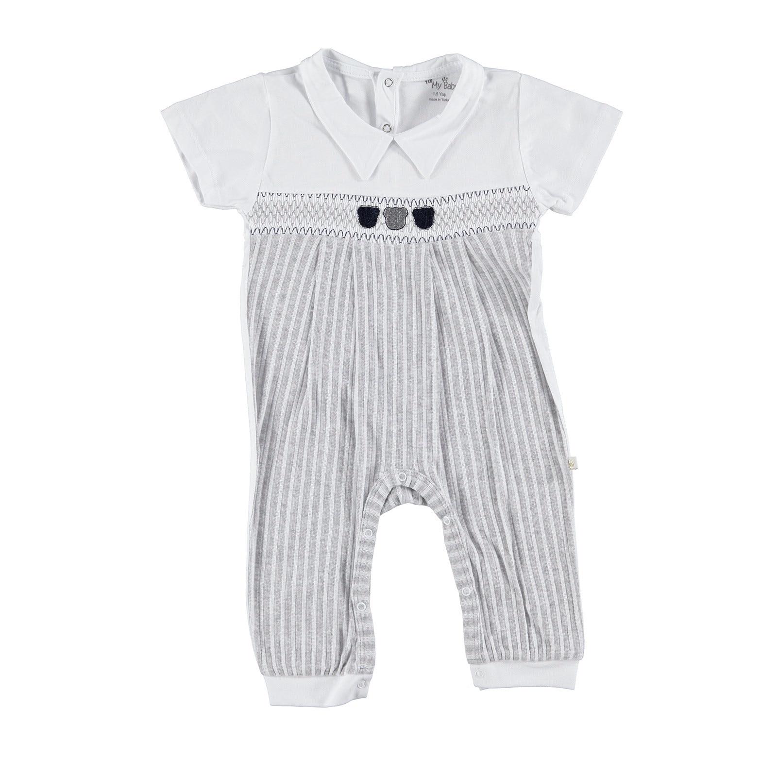 Ebebek For My Baby Boy Rhythm RibBoy Romper