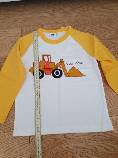 Kids Shirts T-Shirt for Children's Children Girls Boys a Boy Shirt Child Kid's Dinosaur Kid Cotton Cartoon Tops Clothing Clothes photo review