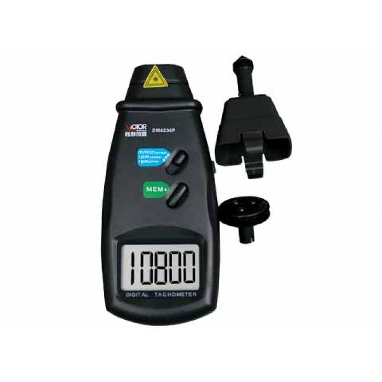Tachymètre numérique Portable Victor Dm6236p
