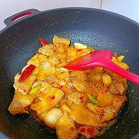此季节最馋人的㊙️五花肉炖萝卜白菜的做法图解5