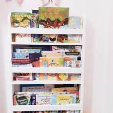 Kinderen Boekenplank Cartoon Massief Houten Vloer Boekenkast Eenvoudige Plank Foto Boek Opslag Eenvoudige Meubels Voor Hom Montessori