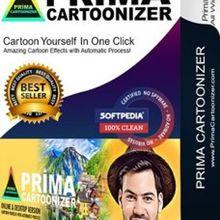 Prima Cartoonizer One convert your photos into cartoons Full Version Software for Windows