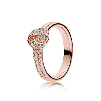Silver Rose Sparkling Love Knot Rings 2ced06a52b7c24e002d45d: 5.25 6.25 7 7.5 8.25