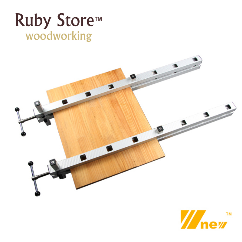 2 Sets of Panel Gluing Clamps Woodworking