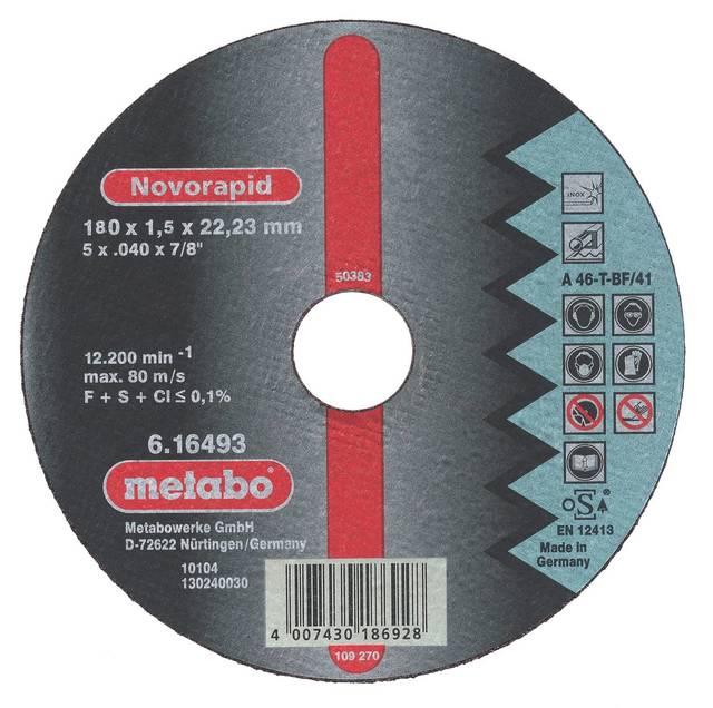 Circle Cutting METABO 150х3х22 616448000