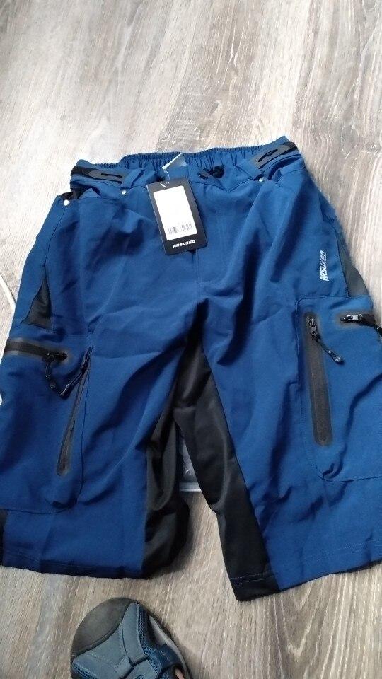 Shorts de ciclismo Mountain Resistente Calças