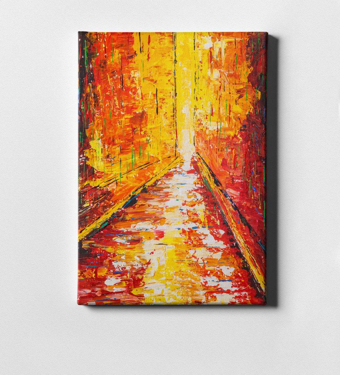 Modern Art Canvas Print (50x70 Cm.) 12