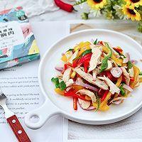 """#美食说出""""新年好""""#柠香彩蔬鸡胸肉的做法图解12"""