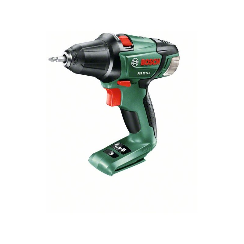 <font><b>BOSCH</b></font>-drill Screwdriver (without <font><b>battery</b></font> and charger) <font><b>PSR</b></font> <font><b>18</b></font> LI-2 image