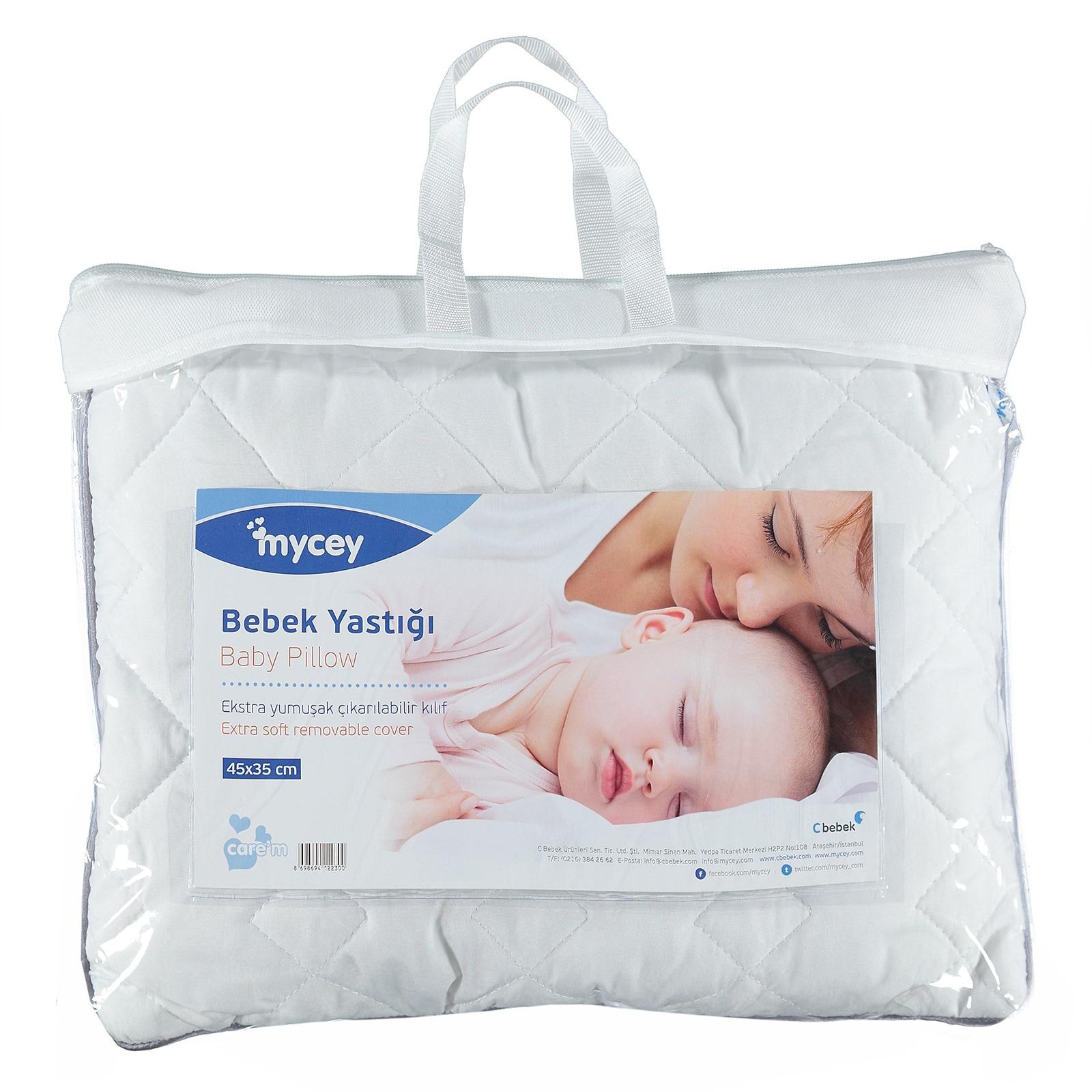 Ebebek Mycey Microfiber Baby Pillow