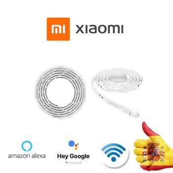 Strip lights LED Xiaomi Yeelight, strip extendable smart lights LED colorful RGB wifi my Home, google and Alexa